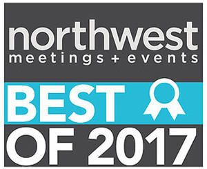 Northwest Meetings Events Best of 2017 Award