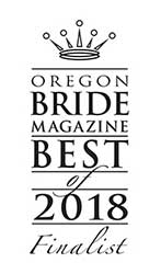 Oregon Bride Magazine Best of 2018 Award