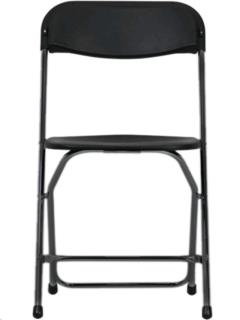 Rental store for BLACK PLASTIC CHAIR in Portland OR