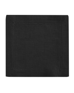 Rental store for 20 SQ HEMSTITCH BLACK NAPKIN in Portland OR
