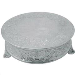 Rental store for ROUND CAKE STAND 16  NICKEL in Portland OR