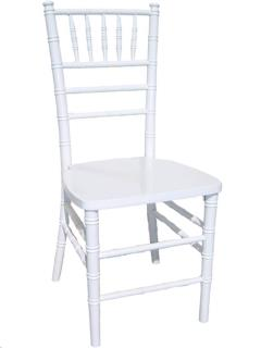 Rental store for WHITE CHIAVARI CHAIR in Portland OR