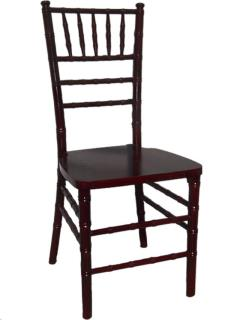 Rental store for MAHOGANY CHIAVARI CHAIR in Portland OR