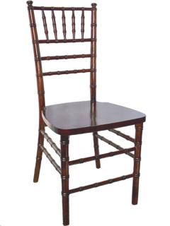 Rental store for FRUITWOOD WALNUT CHIAVARI CHAIR in Portland OR