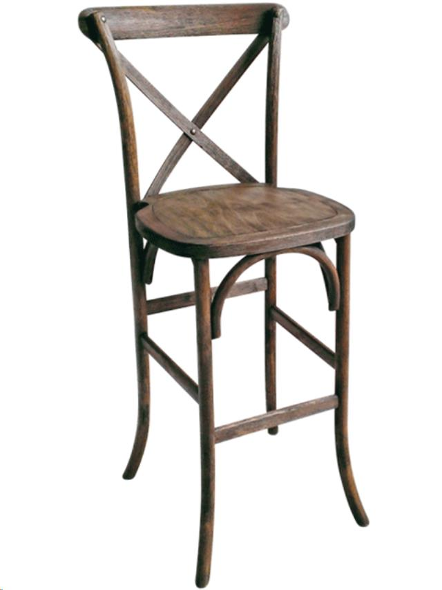 Where to find DRIFTWOOD CROSS BACK BARSTOOL in Portland