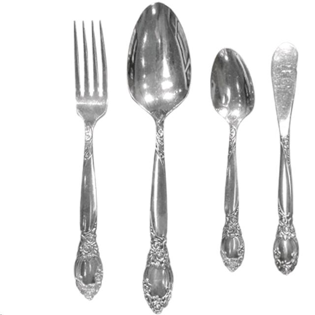 Where to find ROSE SILVERPLATE FLATWARE in Portland
