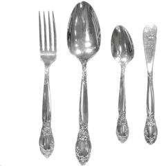 Rental store for ROSE SILVERPLATE FLATWARE in Portland OR