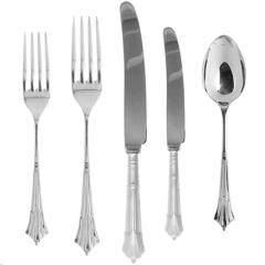 Rental store for ALBANY SILVERPLATE FLATWARE in Portland OR