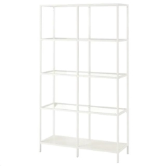 Rental store for WHITE GLASS ETAGERE SHELVES in Portland OR