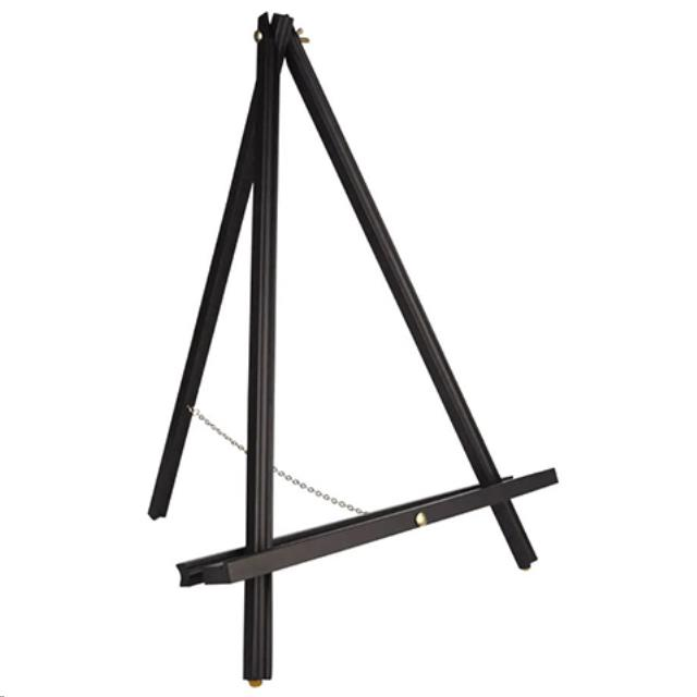 Where to find TABLE EASEL BLACK WOOD 20 in Portland