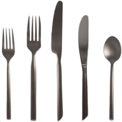Rental store for CAPRI BLACK FLATWARE in Portland OR