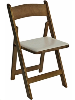 Rental store for SPANISH OAK TAN PAD WOOD CHAIR in Portland OR