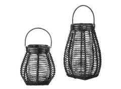 Rental store for BLACK RATTAN LANTERNS in Portland OR