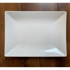 Rental store for WHITE RECTANGLE PLATTER 8 X11 in Portland OR