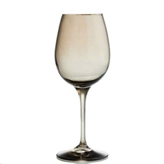Rental store for AURORA SMOKE WINE GLASS 15OZ in Portland OR