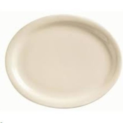 Rental store for IVORY OVAL RIM PLATTER 11.5 in Portland OR