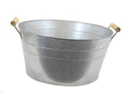 Rental store for GALVANIZED ICE TUB W WOOD HANDLE in Portland OR