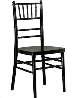 Rental store for BLACK CHIAVARI CHAIR in Portland OR