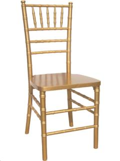 Rental store for GOLD CHIAVARI CHAIR in Portland OR