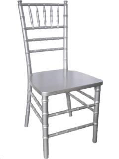 Rental store for SILVER CHIAVARI CHAIR in Portland OR