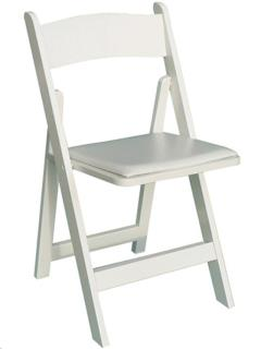 Rental store for WHITE WOOD CHAIR in Portland OR