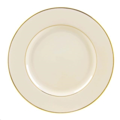 Rental store for IVORY GOLD DINNER PLATE in Portland OR