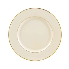 Rental store for IVORY GOLD LUNCHEON PLATE in Portland OR