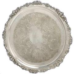 Rental store for SILVER PUNCHBOWL TRAY 18 in Portland OR