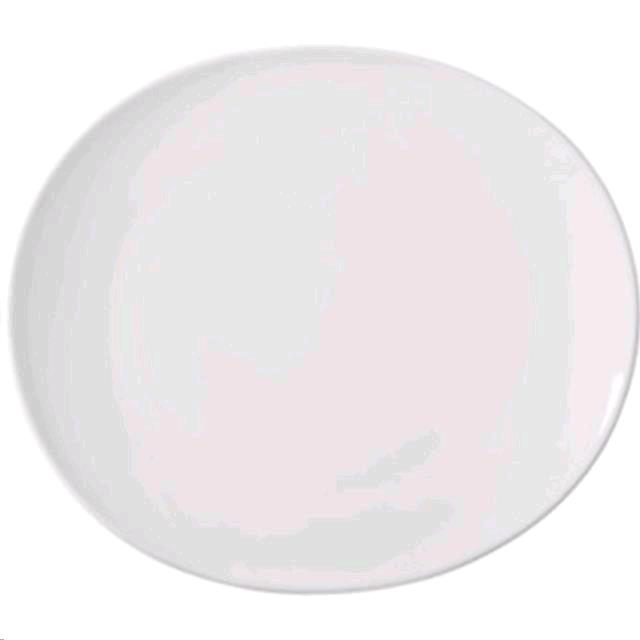 Rent White Oval China